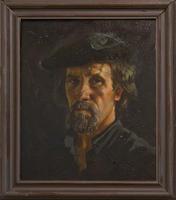 Автопортрет. 1998. Акимов Владимир Яковлевич