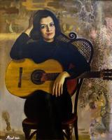 Портрет певицы Эльмиры Галеевой. 2006.  Акимов В.Я