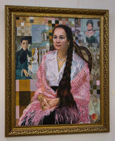 Портрет Мартыновой Раисы. 2006.  Акимов В.Я