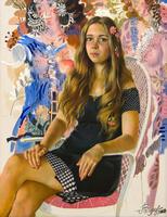 Портрет Сони. 2010.  Акимов В.Я