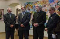 Владимир Акимов с друзьями-одногруппниками  (Чувашское художественное училище)