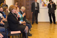 Открытие выставки  В.Я.Акимова