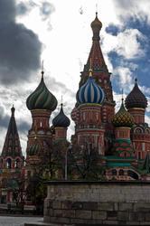 Собор Василия Блаженного в Москве на Красной площади