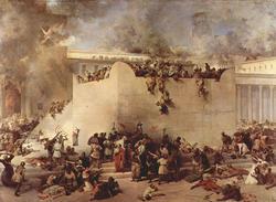 «Разрушение Иерусалимского Храма», Франческо Хайес