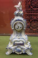 Часы на постаменте в стиле рококо, 1860-е. Огюст Мажорель (1825-1904) Сен Клемен