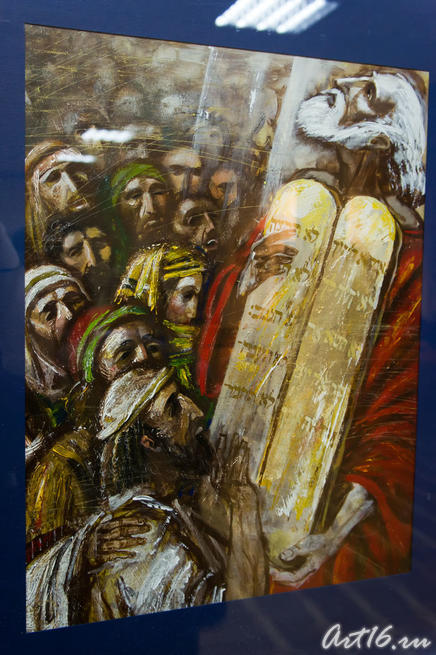 Моисей. 2003. Эйдинов Г.Л. Казань::Республиканская выставка графики — 2010