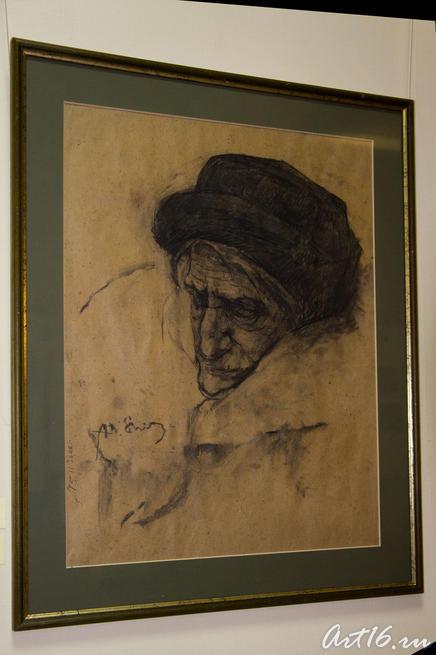 Старость. 2008.Шинибаев А.М.Казань::Республиканская выставка графики — 2010