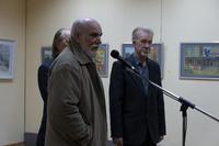 В. Аршинов, З.Гимаев.  Открытие выставки «Новая графика 2010»