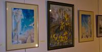Фрагмент экспозиции  «Новая графика 2010»