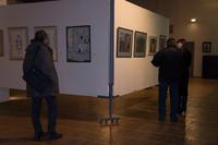 В. Тимофеев на выставке  «Новая графика 2010»