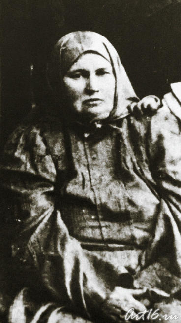 Махубжамал Сайдашева — мать композитора. 1912