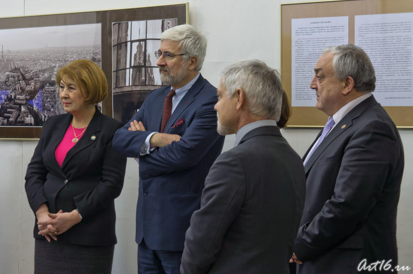 Фото №67812. Зиля Валеева, господин Жан де Глиниасти и др почетные гости