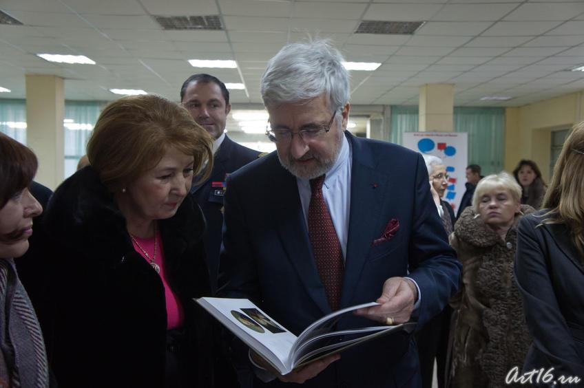 Фото №67842. Зиля Рахимьяновна Валеева, Жан де Глиниасти. Казань 2010