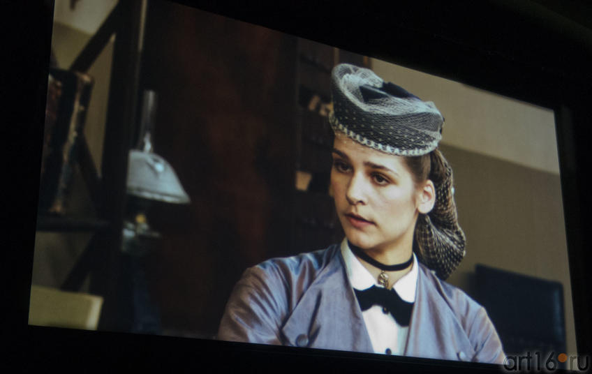 Глафира Тарханова в роли Апполинарии Сусловой. «Три женщины Достоевского»