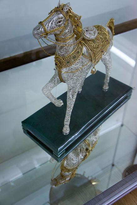 07534 Конь::«Серебряное Рождество»