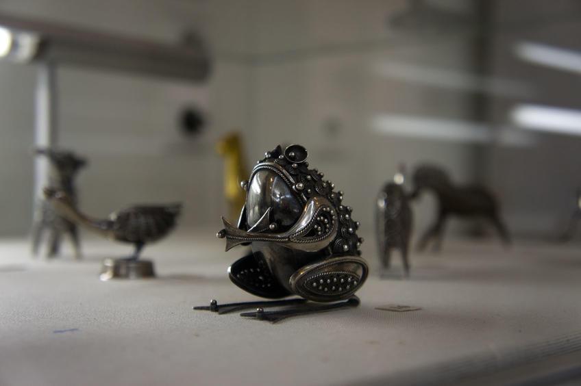 07569 Лягушка::«Серебряное Рождество»