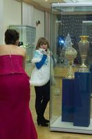 Фото в олном из красивейших экспозиционных залов выставки «Серебряное Рождество», 2010/11г.