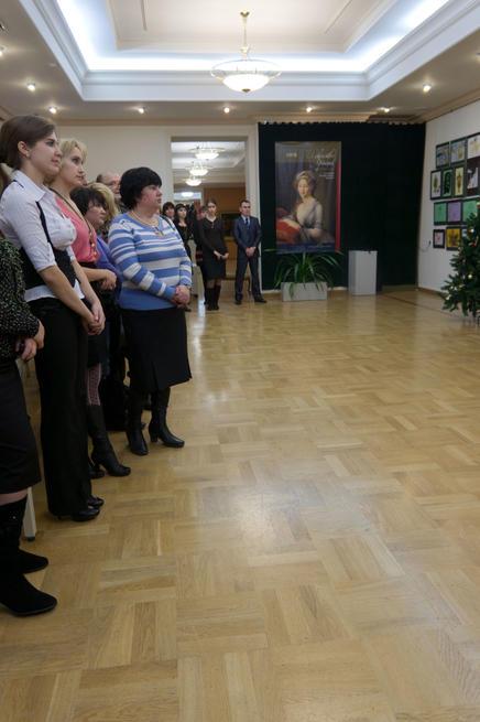 Открыие выставки ʺСеребряное Рождествоʺ. Казань 2010/11г.::«Серебряное Рождество»