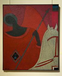 Святой Георгий. 1996. Евгений Голубцов