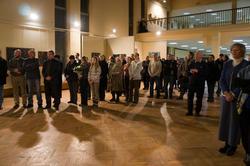 На открытии выставки Евгения Голубцова «Ностальгия о вечном» 2010.
