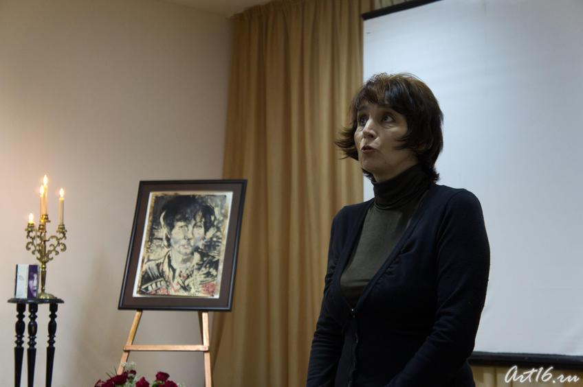 Галия Зайнуллина на вечере памяти Розы Кожевниковой