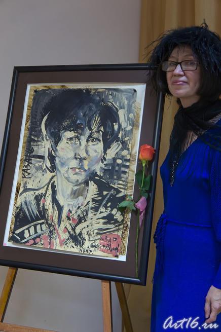 Наиля Ахунова на вечере памяти Розы Кожевниковой