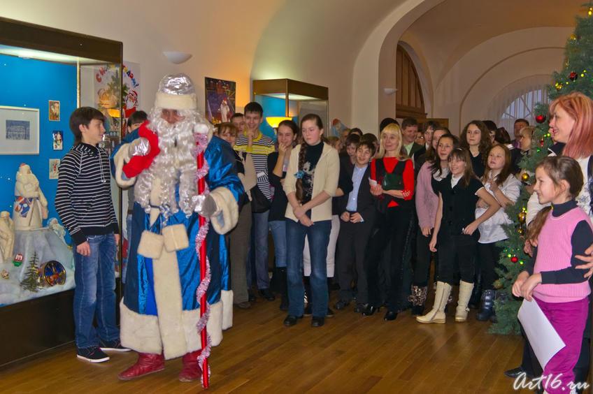 Новогоднее представление в НМ РТ. Казань 2010/11::Летопись Нового года
