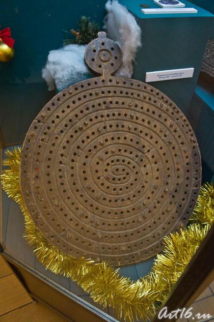 Якутский календарь-диск. Кон.  XIX - нач.XX ::Летопись Нового года