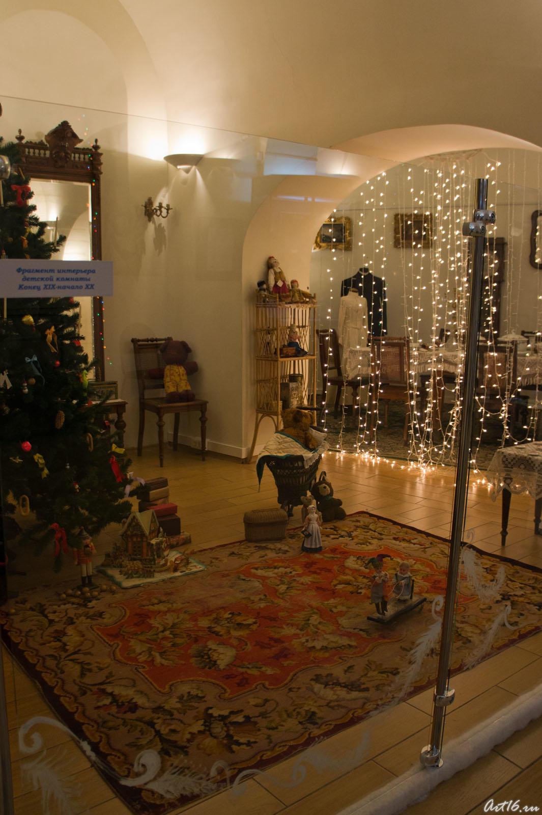 Фрагмент интерьера детской комнаты. Конец XIX-нач.XX::Летопись Нового года