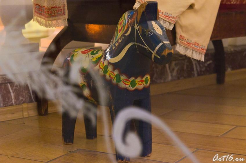 Деревянная лошадка. Новый год в НМ РТ::Летопись Нового года