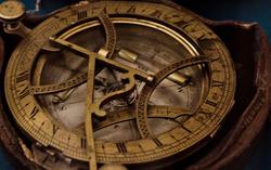 Компас с солнечными часами. Англия. Кон.XVIII- нач.XIX
