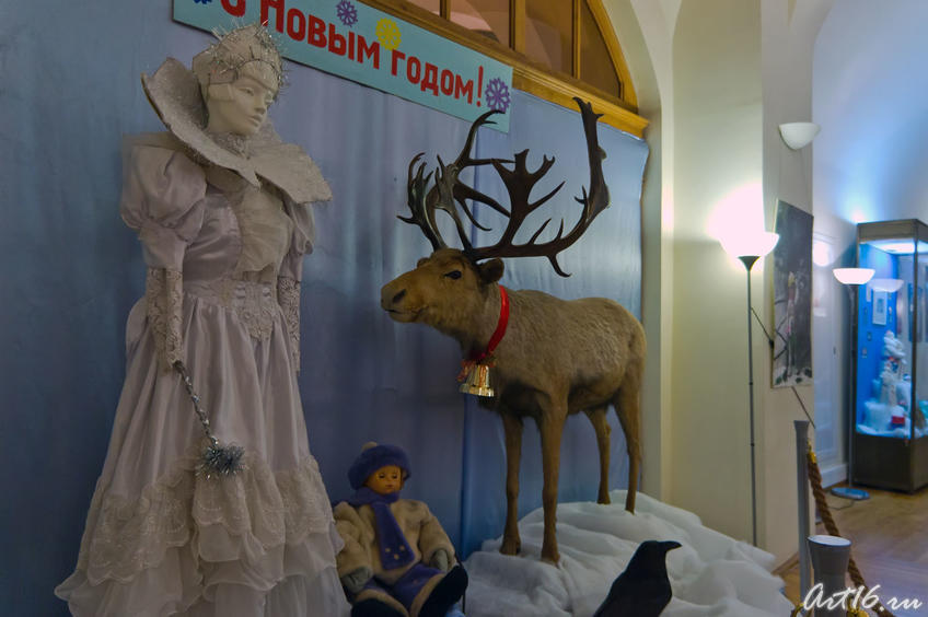 08076 Новогодняя композиция «Снежная королева»::Летопись Нового года