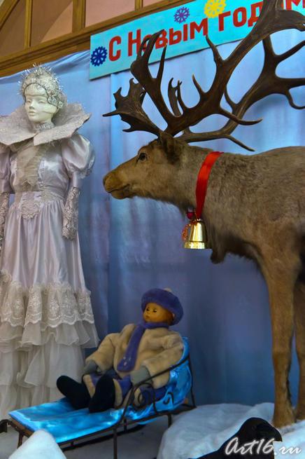 Новогодняя композиция «Снежная королева»::Летопись Нового года