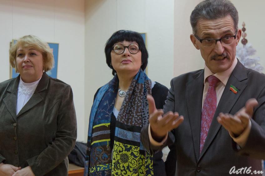 Светлана Измайлова; Розалия Нургалеева, Наиль Валеев