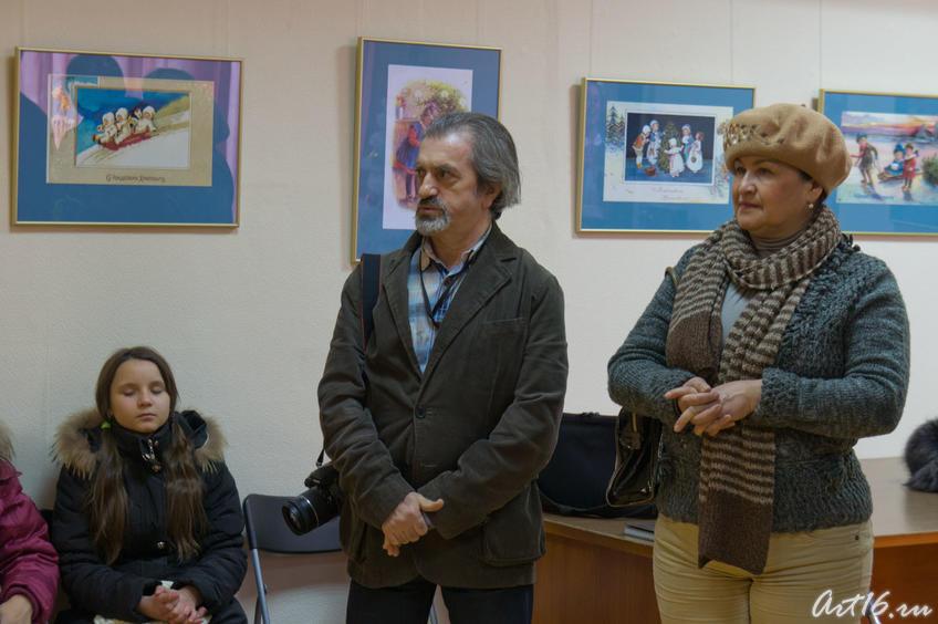 Фарит Губаев, Фарида Хасьянова