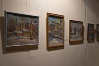 Фрагмент экспозиции выставки В.М.Быковского