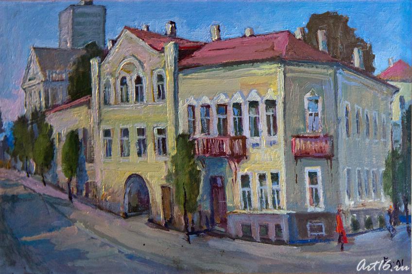 Дом на ул.Лобачевского. 2001, Валентин Быковский