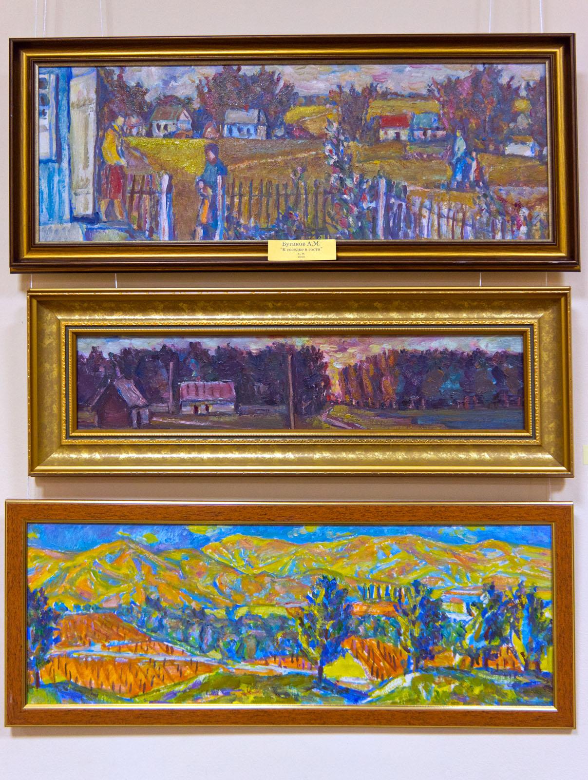 Фото №69193. Фрагмент экспозиции. Анатолий Бугаков