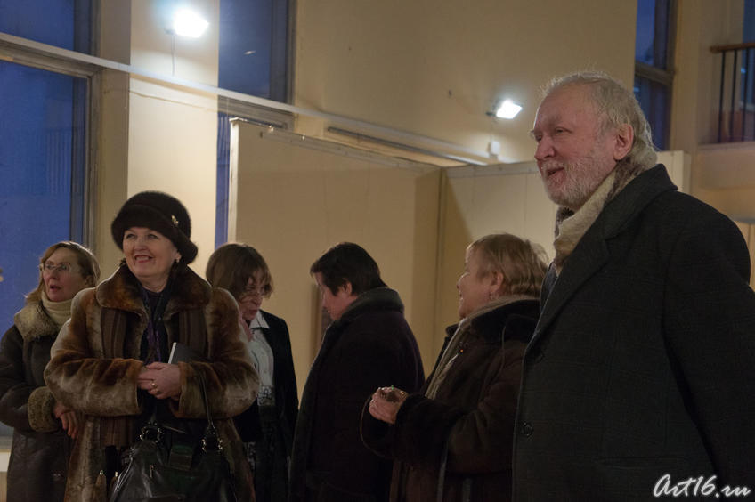 Фото №69294. Открытие выставки А.М.Бугакова (2011. Казань)