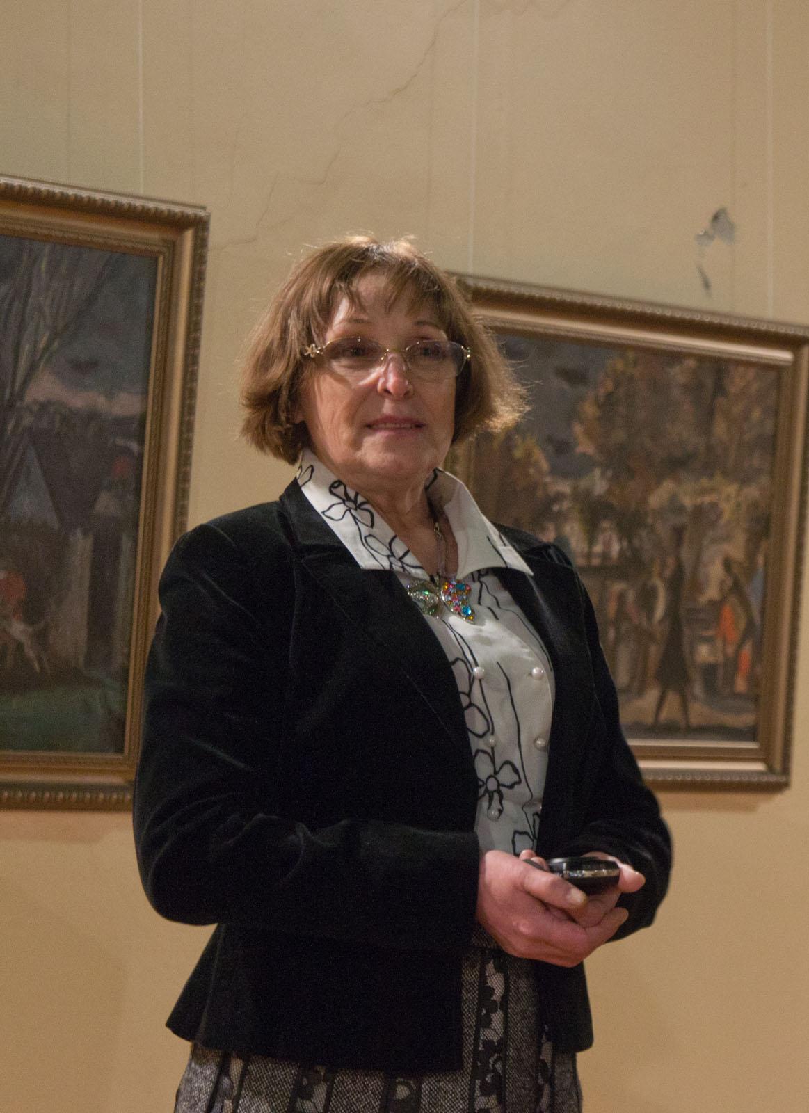 Фото №69309. Терновская Светлана Ивановна, жена художника, его менеджер