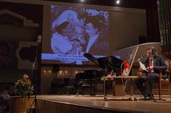 Фотография Н. Жиганова с Серафимой и Светланой
