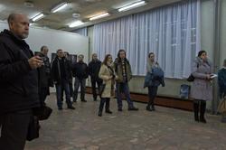 На открытии выставки студийной фотографии
