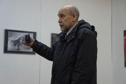 Выступление на открытии выставки студийной фотографии