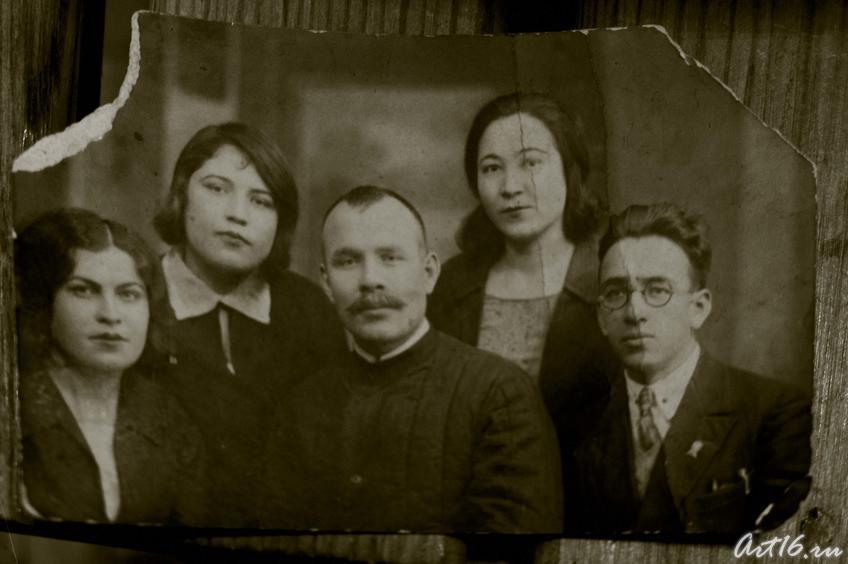 Баки Урманче с родственниками (1933)::Фирая Сабировна Закирова