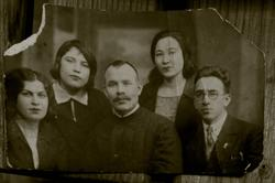 Баки Урманче с родственниками (1933)
