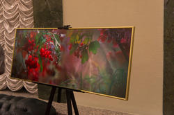 Выставка Евгения Канаева в фойе БКЗ  им. С. Сайдашева
