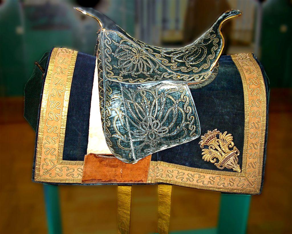 Фото №7075. Седло, подаренное императору Николаю I султаном Махмудом II