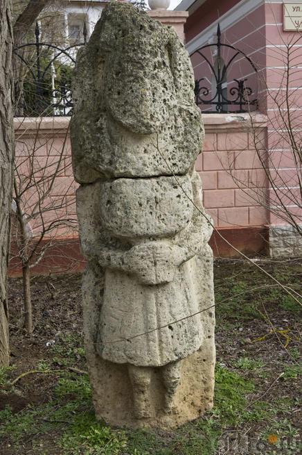 Бал-бал. Древняя скульптура из известняка