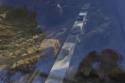 Фрагмент экспозиции археологического комплекса городища Керкинитиды