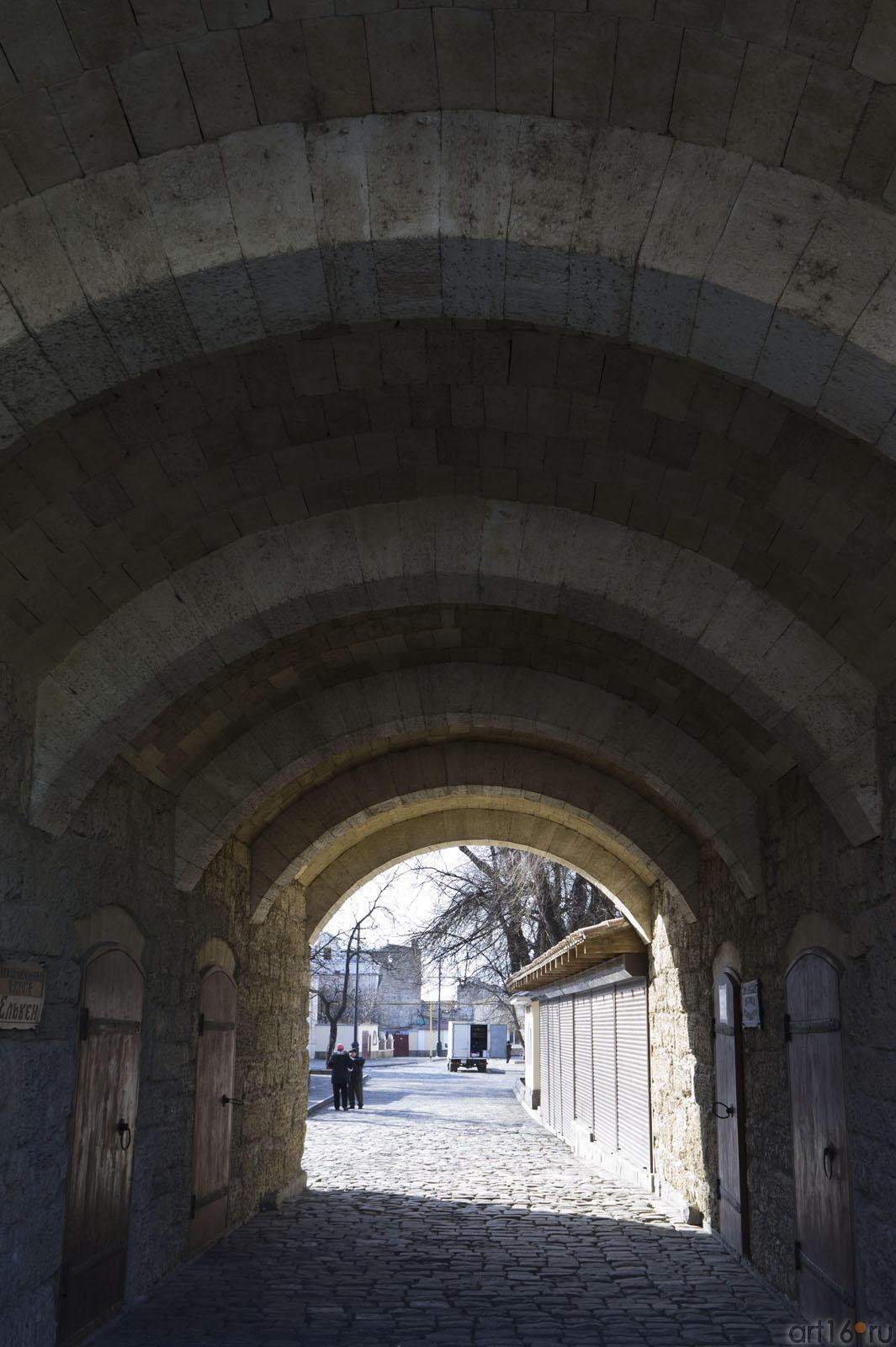 Ворота ʺОдун базарʺ (Дровяной базар)::Евпатория